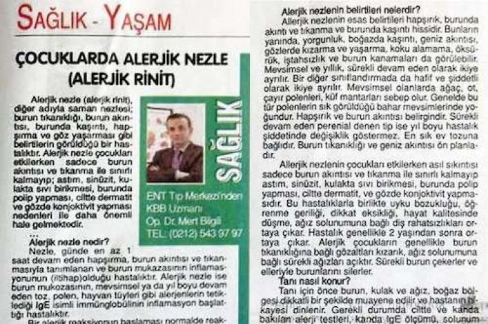 Önce Vatan Gazetesi - 12 Nisan 2014